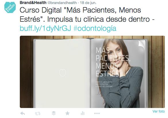Twitter para clínicas dentales-Ejemplo 1