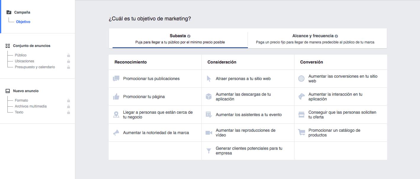 B&H_Objetivos en Facebook Ads