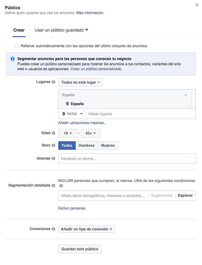 B&H_Públicos en Facebook Ads